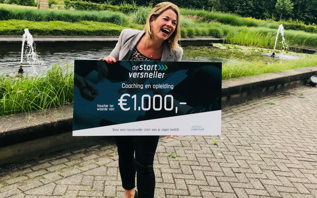 Unieke kans voor ambitieuze startende ondernemers in Overijssel en Gelderland € 1.000 subsidie!