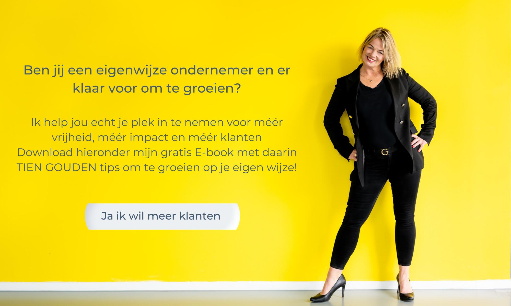 Margot Morrenhof Businesscoach